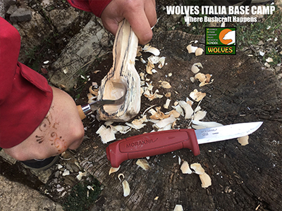 L'ARTE DELL'INTAGLIO DEL LEGNO, DELL'USO DEL COLTELLO E DEL WOODCRAFT AL GAME FAIR ITALIA