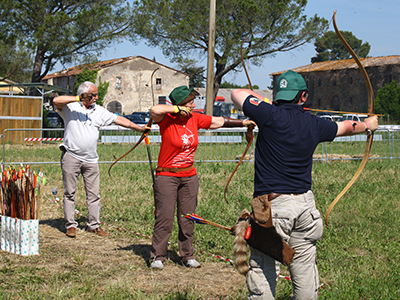 TIRO CON L'ARCO AL GAME FAIR